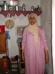 Fatima, our hostess