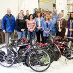 Sealevel donates bikes to Helping Hands
