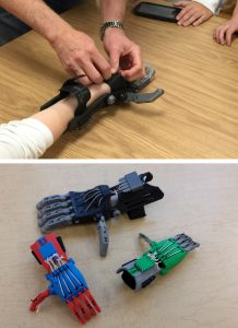 3D printed arms from Gettys MS