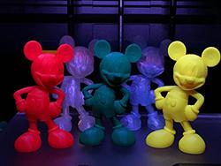 3D printed Mickeys