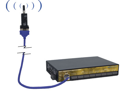 SeaI/O module with remote mounted Bluetooth adapter