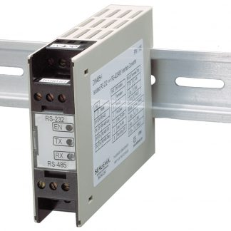 RS-232 to RS-422, RS-485 DIN Rail Mount Serial Interface Converter