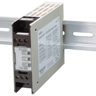 RS-232 to RS-422, RS-485 Isolated DIN Rail Mount Serial Interface Converter