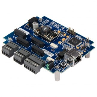 Ethernet to 4 Optically Isolated Inputs / 4 Reed Relay Embedded Digital Interface, with PoE (802.3af)