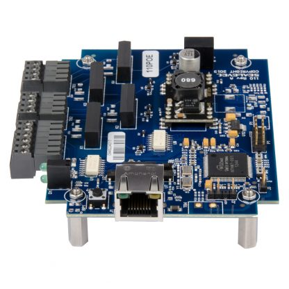 eI/O-110PoE-OEM Right View w/ Power Over Ethernet Port