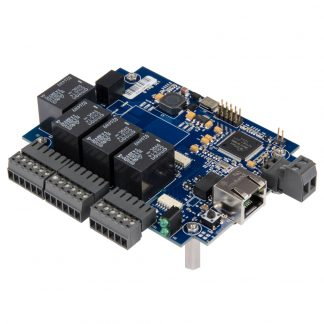 Ethernet to 4 Optically Isolated Inputs / 4 Form C Relay Outputs Embedded Digital Interface