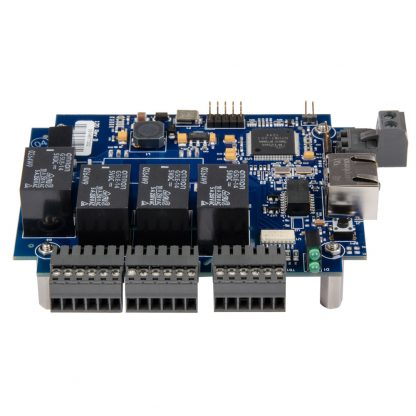 eI/O-120E-OEM Front View w/ Field Removable Terminal Blocks