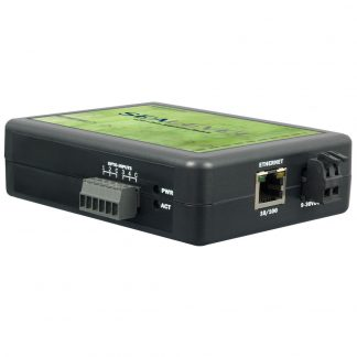 Ethernet to 4 Isolated Inputs Digital Interface Adapter