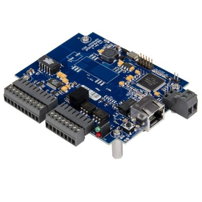Ethernet to 8 A/D, 2 Optically Isolated Dry Contact Inputs, 2 Solid-State Relay Outputs, Embedded Multifunction I/O
