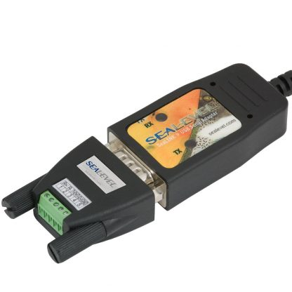 Application Example: 2107 with DB9 to 5-Pin Terminal Block (TB34) Connected