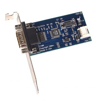 Embedded USB to 1-Port RS-232 DB9 Serial Interface Adapter