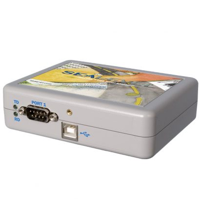 USB to 1-Port Isolated RS-232, RS-422, RS-485 DB9 Serial Interface Adapter