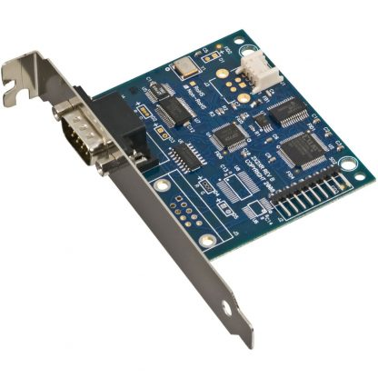 Embedded USB to 1-Port RS-232, RS-422, RS-485 (Software Configurable) DB9 Serial Interface Adapter with PC Bracket