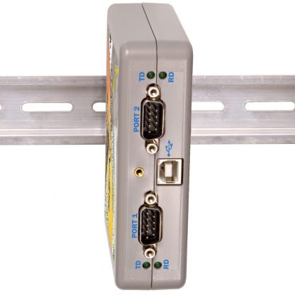 2213 includes integrated clips for mounting on standard DIN rail