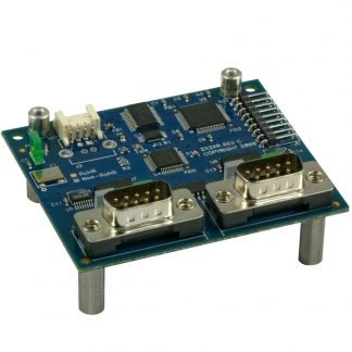 USB to 2-Port RS-232, RS-422, RS-485 (Software Configurable) DB9 Serial Interface Adapter