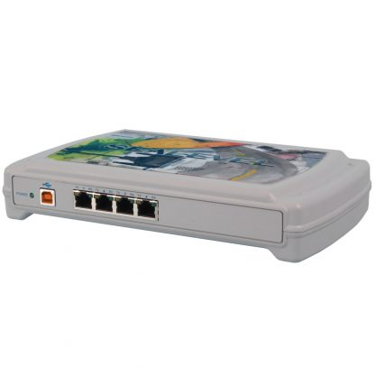 USB to 4-Port RS-232, RS-485 RJ45 VersaCom Serial Interface Adapter