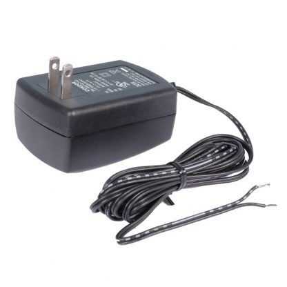 270U Included 12 VDC @ 2.5A wall-mount power supply (Item# TR123)
