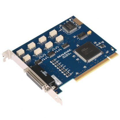 PCI 8 Form C Relay Output / 8 Isolated Input Digital Interface