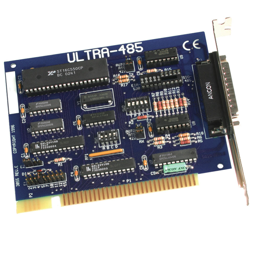 Ultra 485 Sealevel Rs Data Interface Gives Isolated Full Duplex Operation Isa 1 Port 422 Serial
