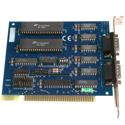 ISA 2-Port RS-232 Serial Interface