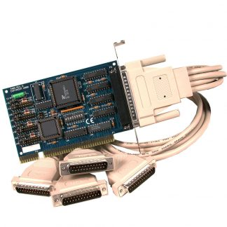 ISA 4-Port RS-232 Serial Interface
