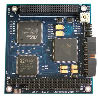 PC/104-Plus 1-Port RS-232, RS-422, RS-485, RS-530, RS-530A, V.35 Synchronous Serial Interface (uses Z16C32)