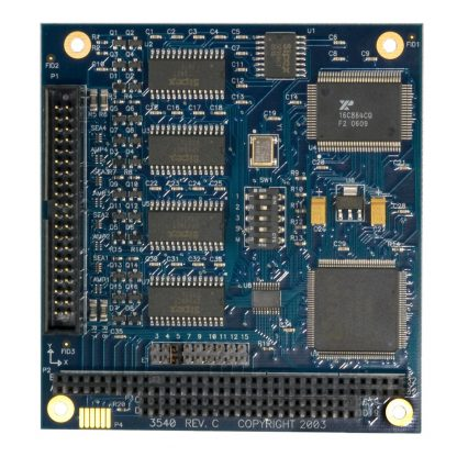 PC/104 RS-232, RS-422, RS-485 (Software Selectable) Serial Interface