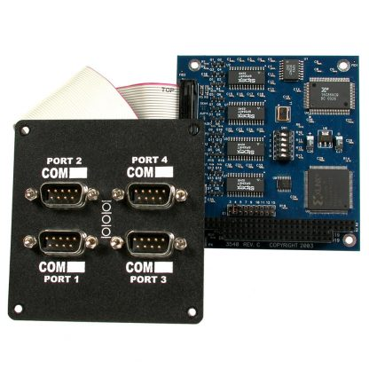 PC/104 RS-232, RS-422, RS-485 (Software Selectable) Serial Interface Portholes Kit