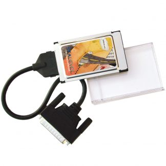 PCMCIA 1-Port RS-232, RS-422, RS-485, RS-530, RS-530A, V.35 Synchronous Serial Interface Card (uses Z85233)