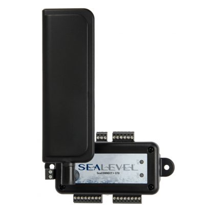 SeaConnect 370 edge device with LTE antenna for remote data logging