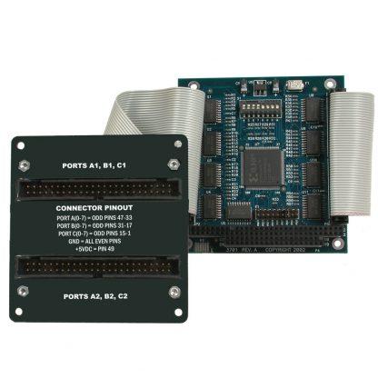 PC/104 48 Channel TTL Digital Interface Portholes Kit
