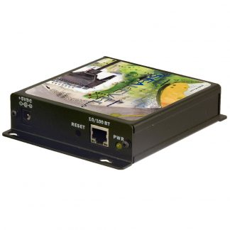 Ethernet to 1-Port RS-232 Serial Server