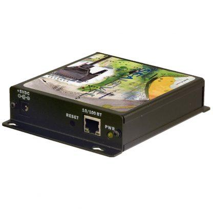 Ethernet to 1-Port RS-232 Serial Server