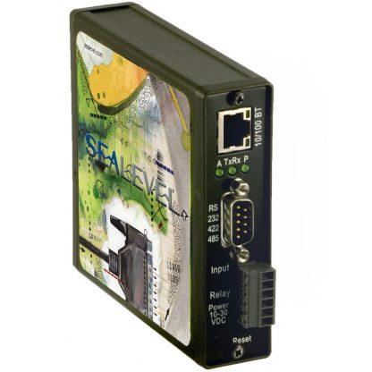 Ethernet to Isolated 1-Port RS-232, RS-422, RS-485 Serial Server (4103) - Ethernet, Serial, Digital Interfaces