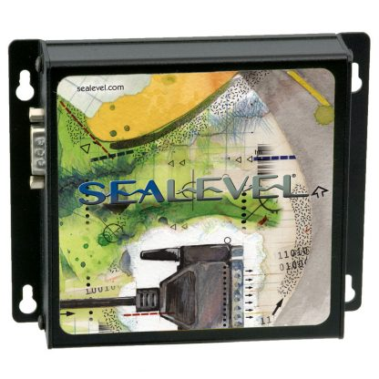 Ethernet to 1-Port RS-232, RS-422, RS-485 Serial Server (4104) - Top