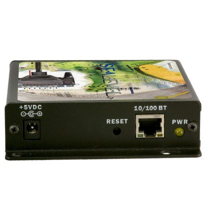 Ethernet to 1-Port RS-232, RS-422, RS-485 Serial Server (4104) - Ethernet Interface