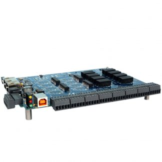USB to 16 Isolated Inputs / 16 Reed Relay Outputs