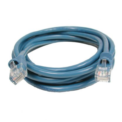 CAT5 Patch Cable, 7 feet in Length, Blue (CA246)
