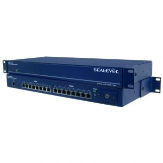 Ethernet to 16-Port RS-232, RS-422, RS-485 Serial Server
