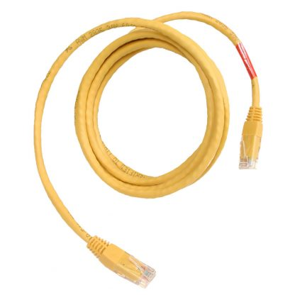 CAT5 Crossover Cable, 7 feet in Length - Yellow (CA251)