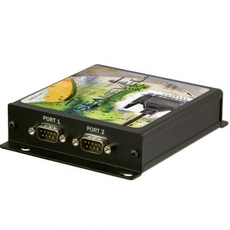 Ethernet to 2-Port RS-232 Serial Server