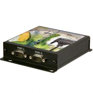 Ethernet to 2-Port RS-232 Serial Server