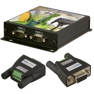 Ethernet to 2-Port RS-422, RS-485 Serial Server Kit