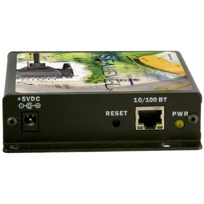 Ethernet to 2-Port RS-232, RS-422, RS-485 Serial Server (4203) - Ethernet Interface