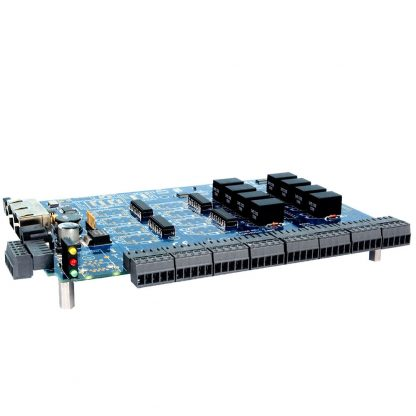 RS-485 Modbus RTU Interface to 16 Isolated Inputs / 8 Form C Relay Outputs