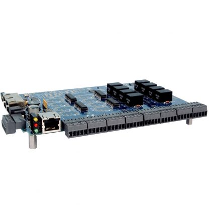 RS-232 Modbus RTU Interface to 16 Isolated Inputs / 8 Form C Relay Outputs