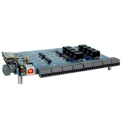 USB to 16 Isolated Inputs / 8 Form C Relay Outputs