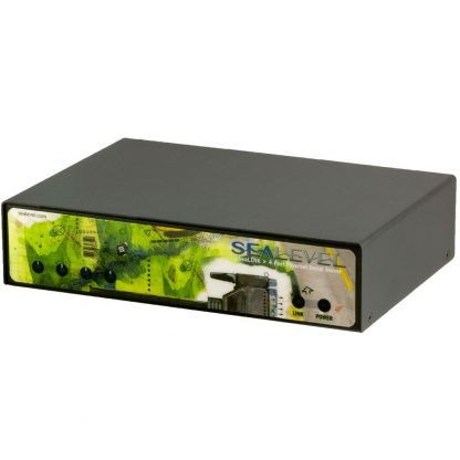 Ethernet to 4-Port RS-232 Serial Server