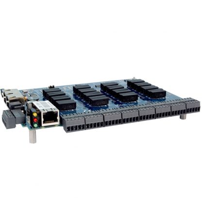 Ethernet Modbus TCP to 32 Reed Relay Outputs