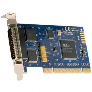 Low Profile PCI 1-Port RS-232, RS-422, RS-485, RS-530, RS-530A, V.35 Synchronous Serial Interface (uses Z85230)